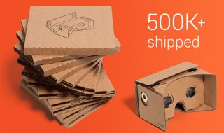 500.000 Google Cardboard vendus