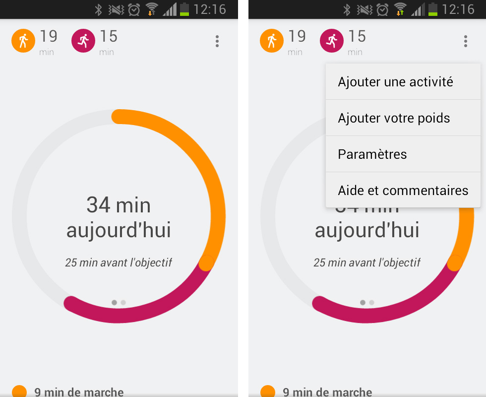 Application Google Fit