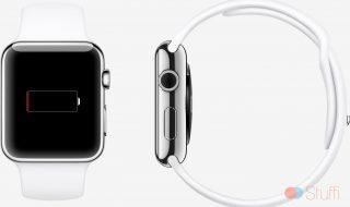 Batterie faible Apple Watch
