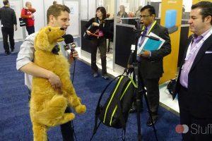 Interview exclusive avec un chien en peluche