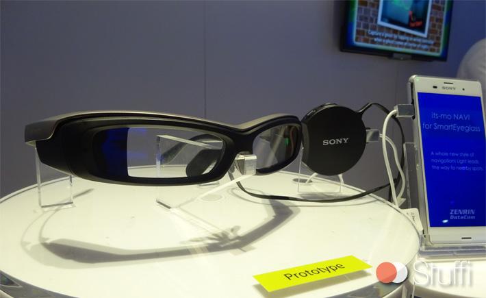 Lunettes connectées B2B chez Sony