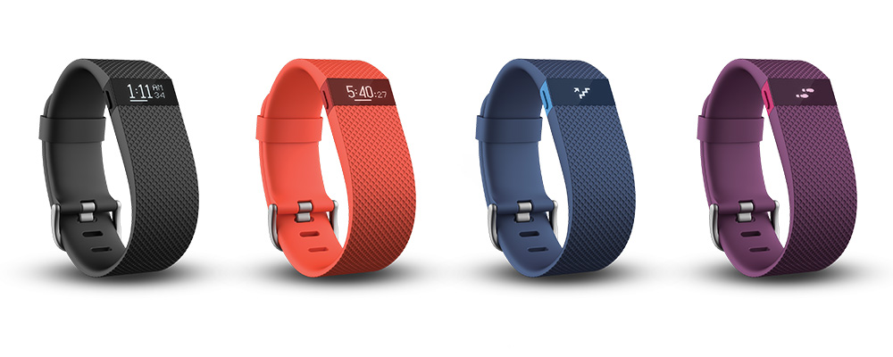 Les couleurs du Fitbit Charge HR