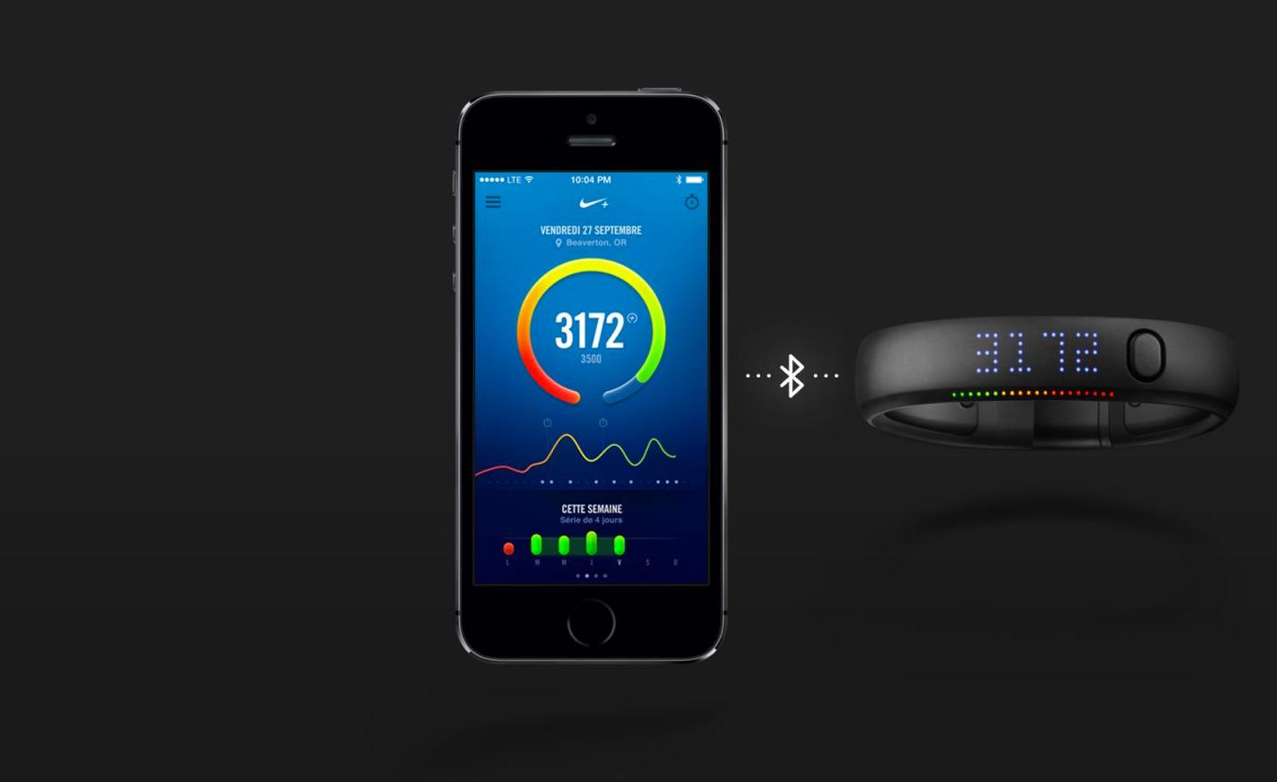 L'application Nikefuel ne nécessite plus de Fuelband