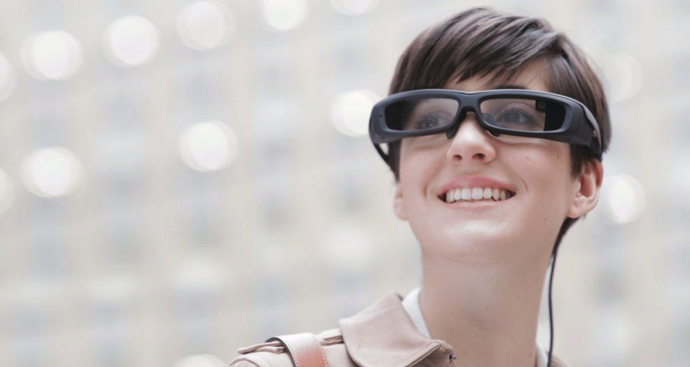 Lunettes connectées Sony SmartEyeglass