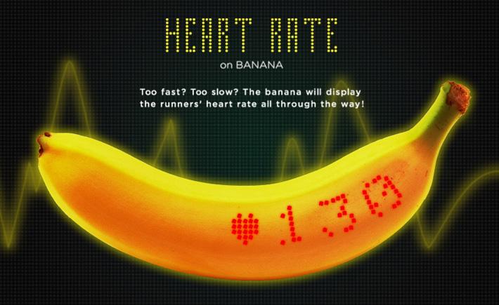 La banane connectée Dole