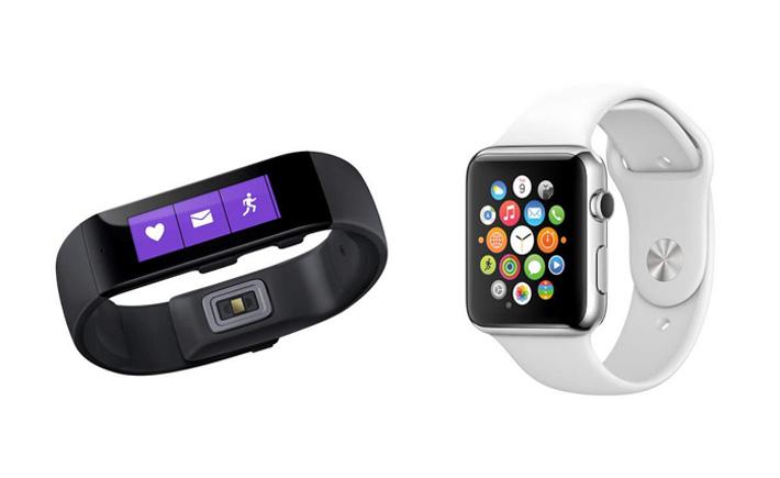 Le Microsoft Band, mieux que l'Apple Watch ?