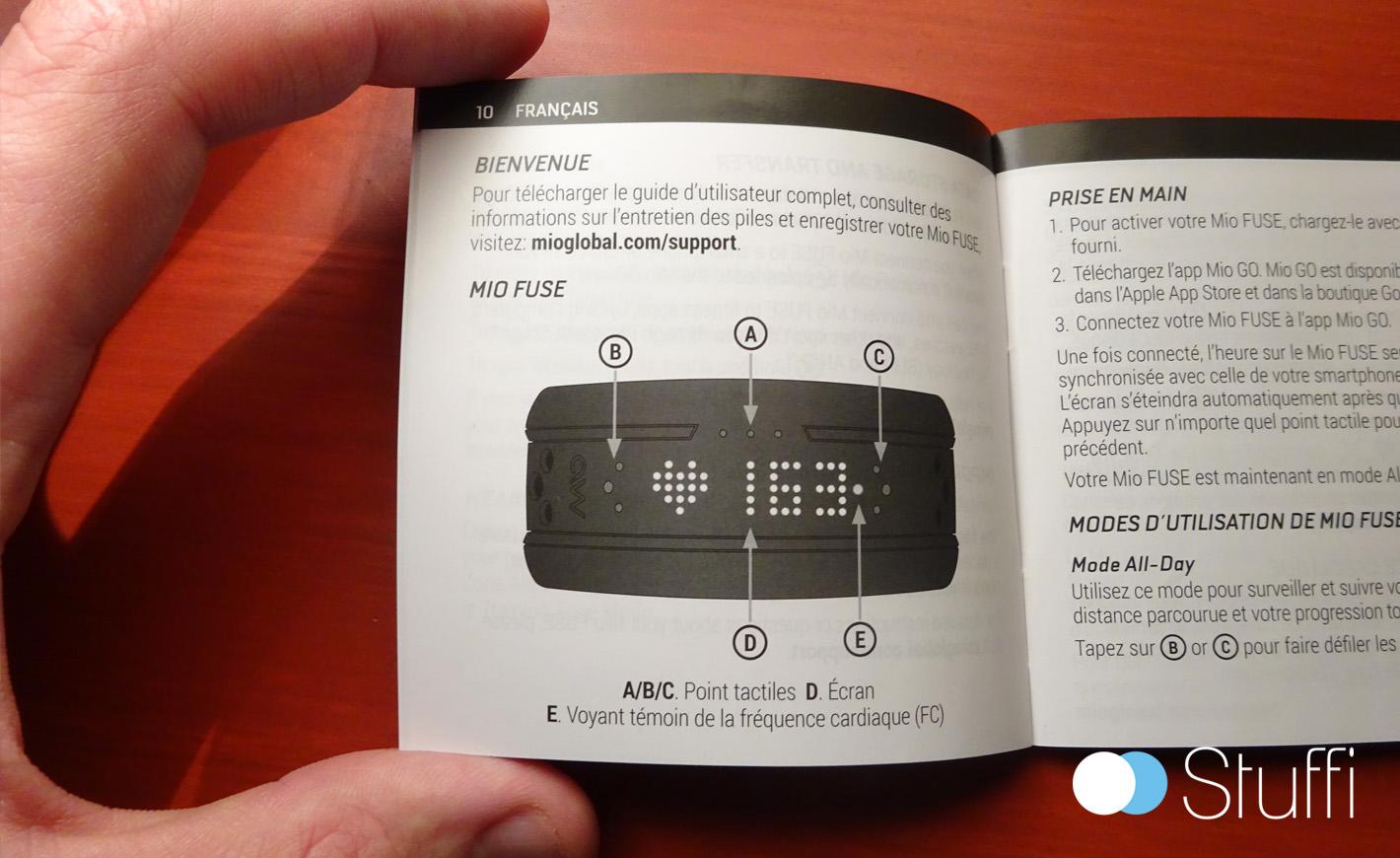 Un guide très explicite pour les boutons
