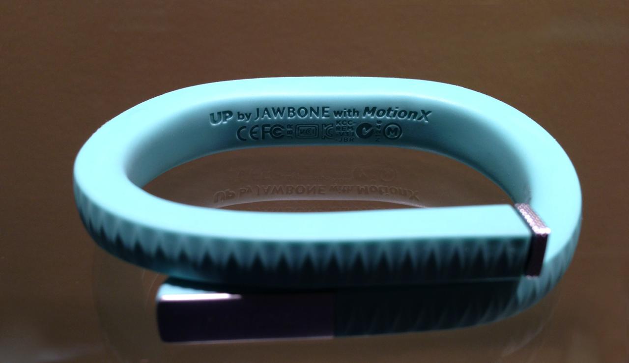 Jawbone utilise Motion X dans son UP et UP24