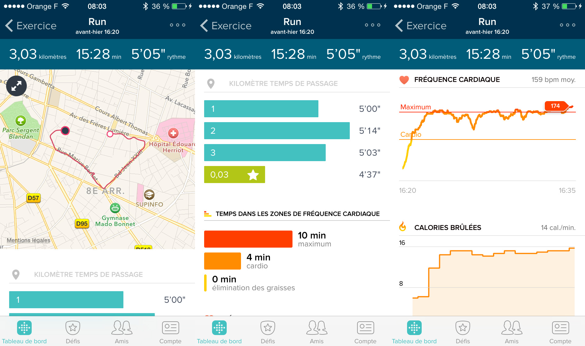 Sessions Application Fitbit Surge