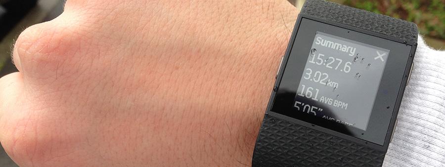 Fitbit Surge recap session