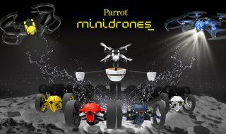 Nouveaux mini drones Parrot