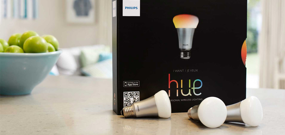 Philips Hue en couleur