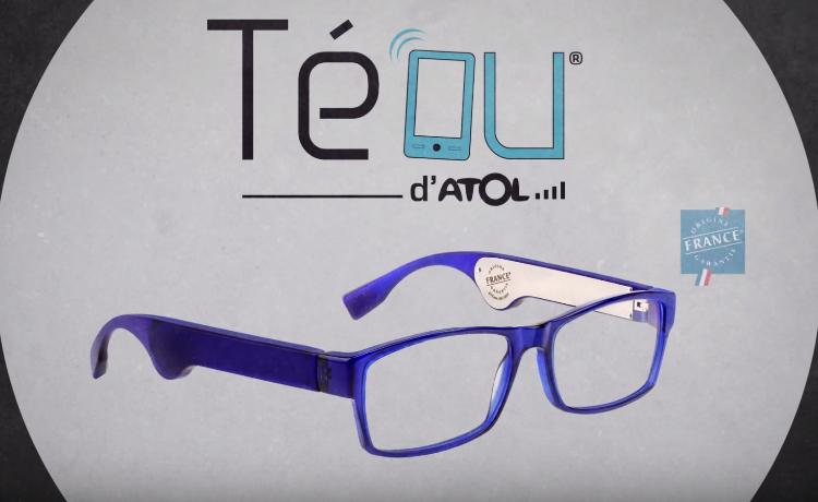 fe6f6b2e7538d8 Les lunettes connectées Atol Téou sont disponibles