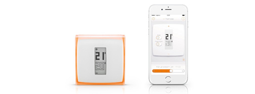 netatmo concurrence nest avec son thermostat connect. Black Bedroom Furniture Sets. Home Design Ideas