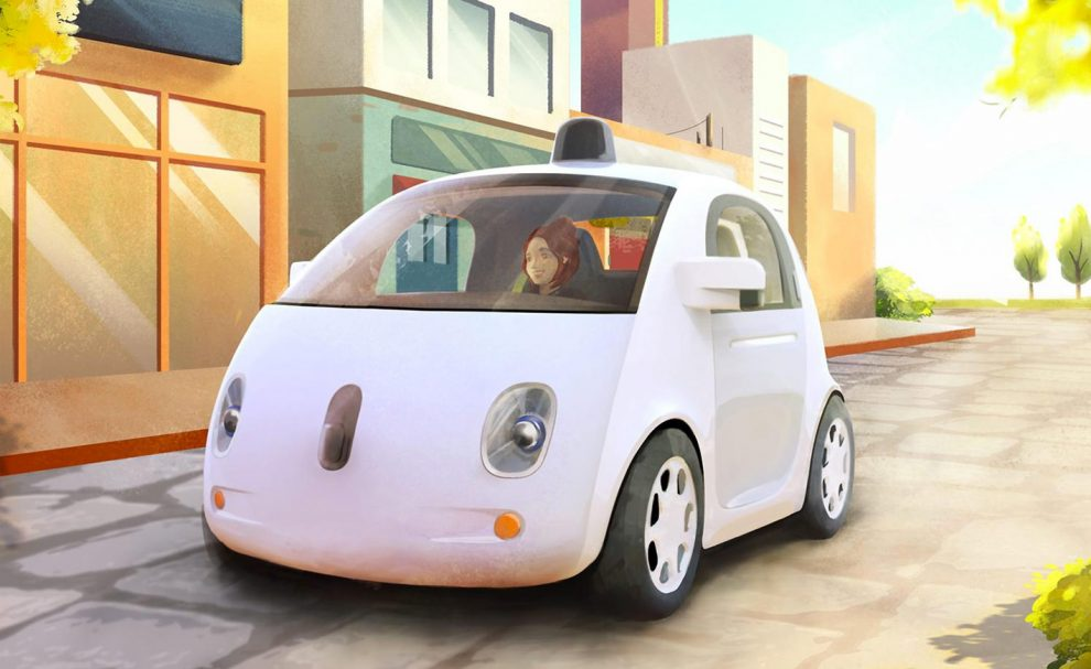 le projet de v hicule autonome de google tient son ceo. Black Bedroom Furniture Sets. Home Design Ideas