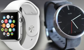 Android Wear versus Apple Watch