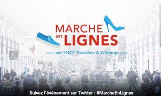 Marche en lignes par Withings et SNCF