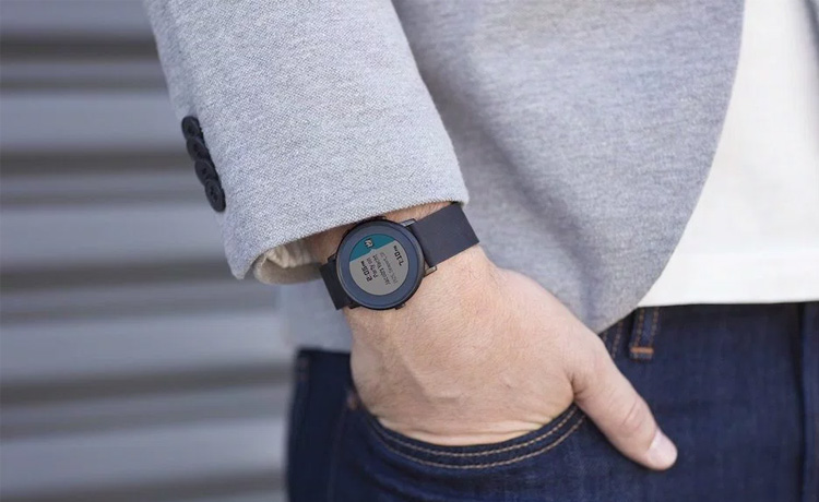 La nouvelle Pebble Time ronde