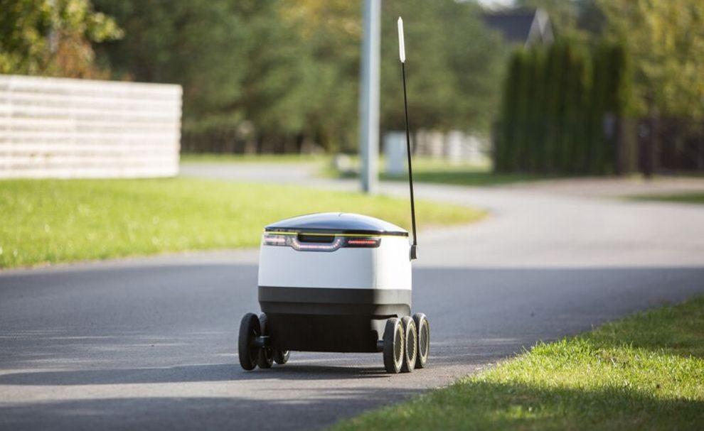 Robot livraison autonome