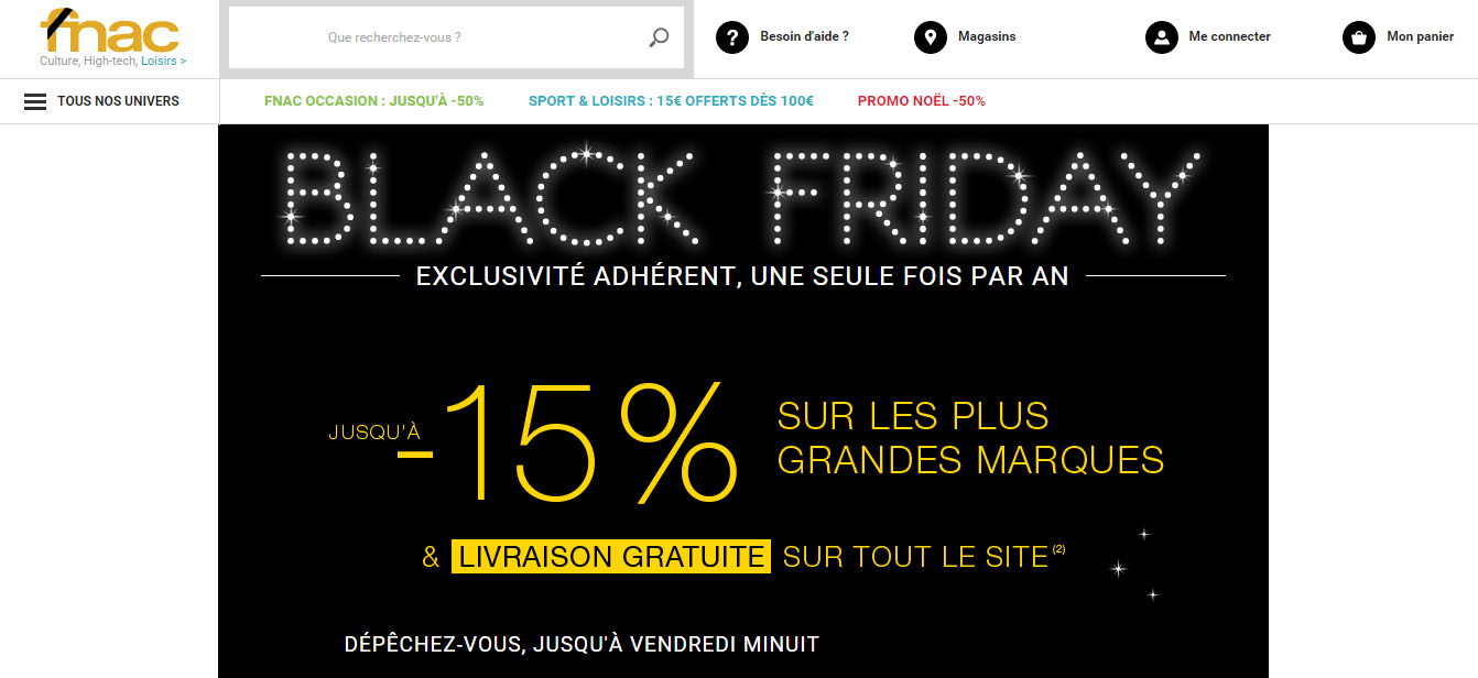BlackFriday en France