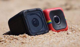 Polaroid Cube vs GoPro Hero4 Session