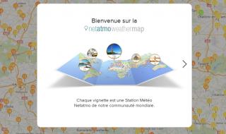 Weathermap Netatmo