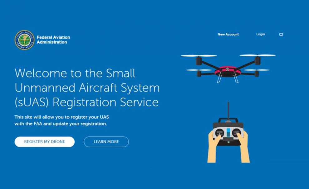 Immatriculation drone