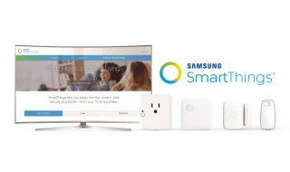 SmartThings integré dans les Smart TV Samsung