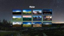 L'application de réalité virtuelle Flickr