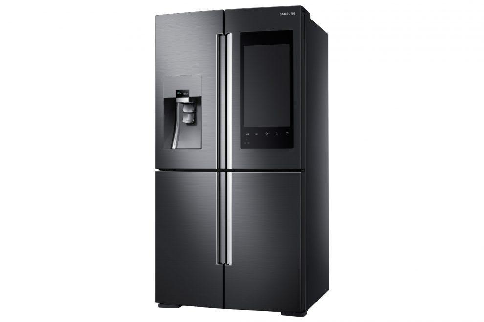 samsung annonce un frigo connect avec cam ras et cran int gr s. Black Bedroom Furniture Sets. Home Design Ideas