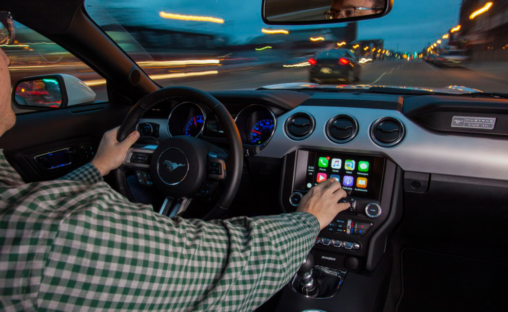 Android Auto dans une Ford Mustang