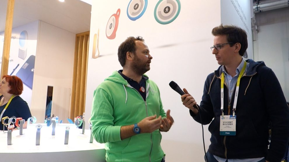 Cédric Hutchings de Withings au CES