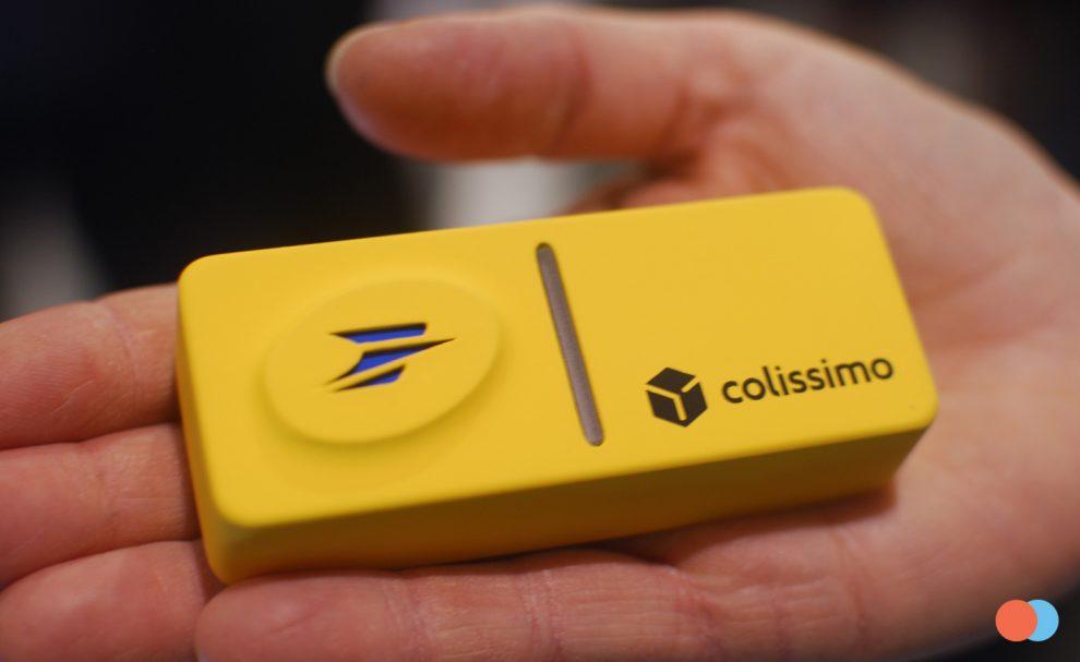 Le bouton connecté de La Poste