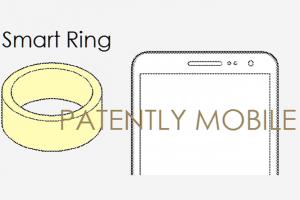 Brevet Samsung smartring