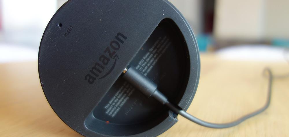 Chargement Amazon Echo