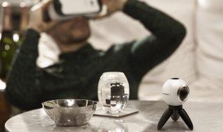Samsung Gear 360 et Gear VR