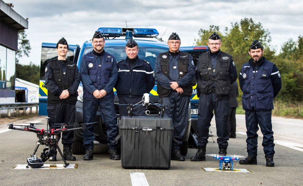 La gendarmerie s'équipe de drones