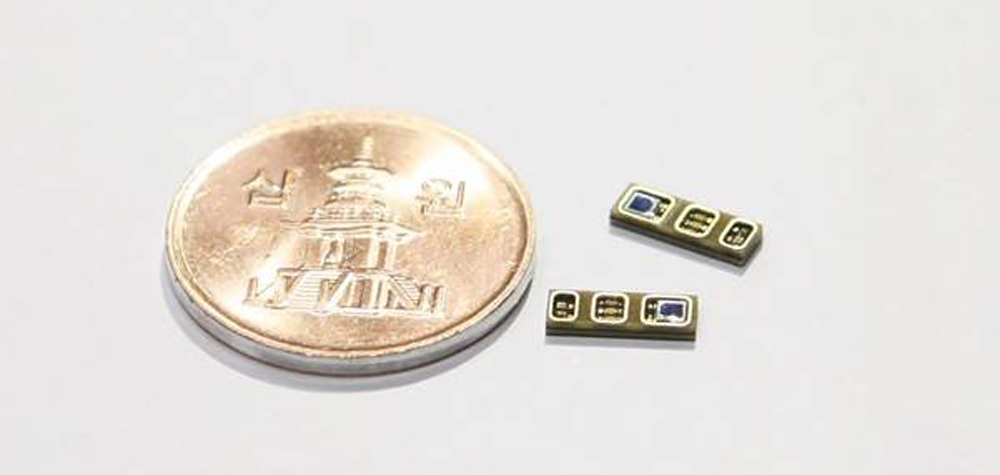 Le nouveau capteur biométrique de LG