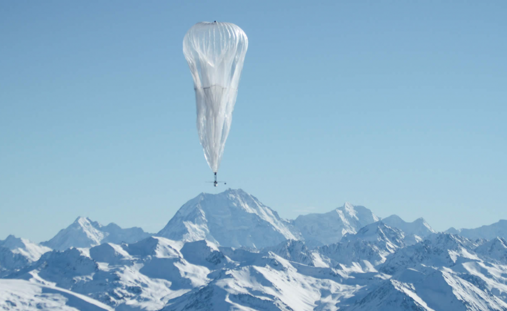 Un ballon du Project Loon
