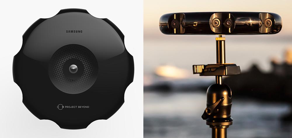 La caméra VR de Samsung