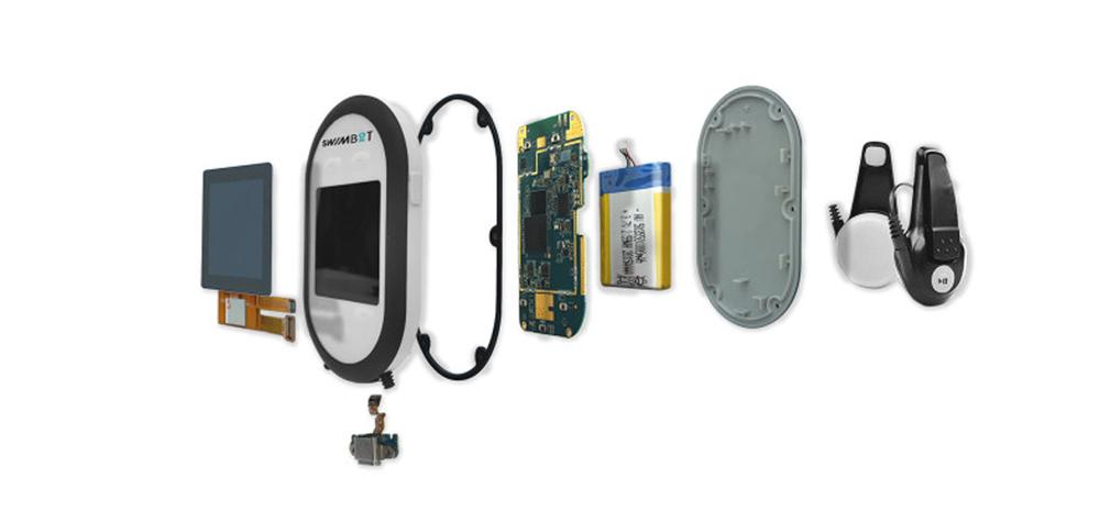 Les différents composants du SWIMBOT