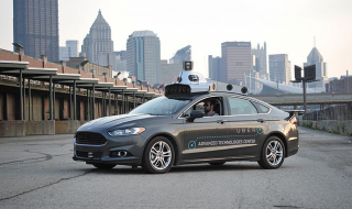 La voiture autonome développée par Uber