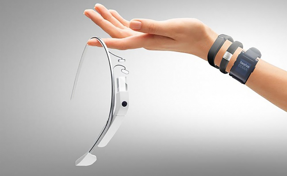 Google Glass et bracelets connectés