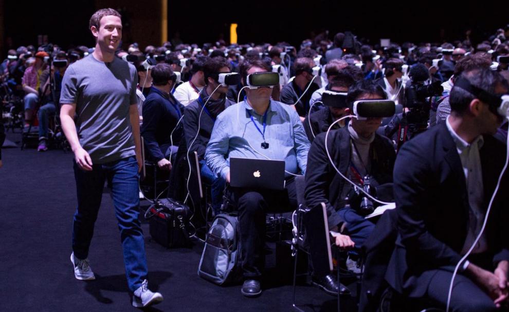 Mark Zuckerberg au MWC