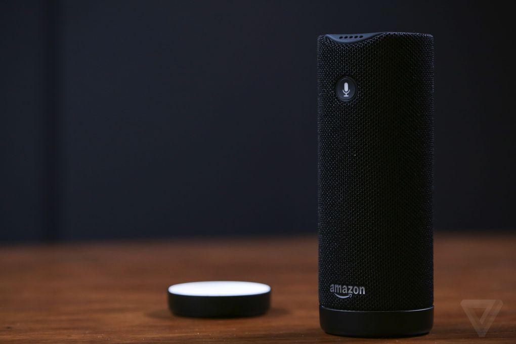 Le dock de chargement du Echo Tap