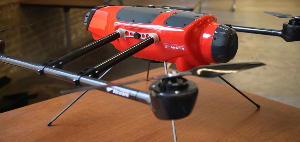 Un drone modifié par AirWare