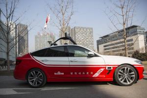 La BMW autonome de Baidu