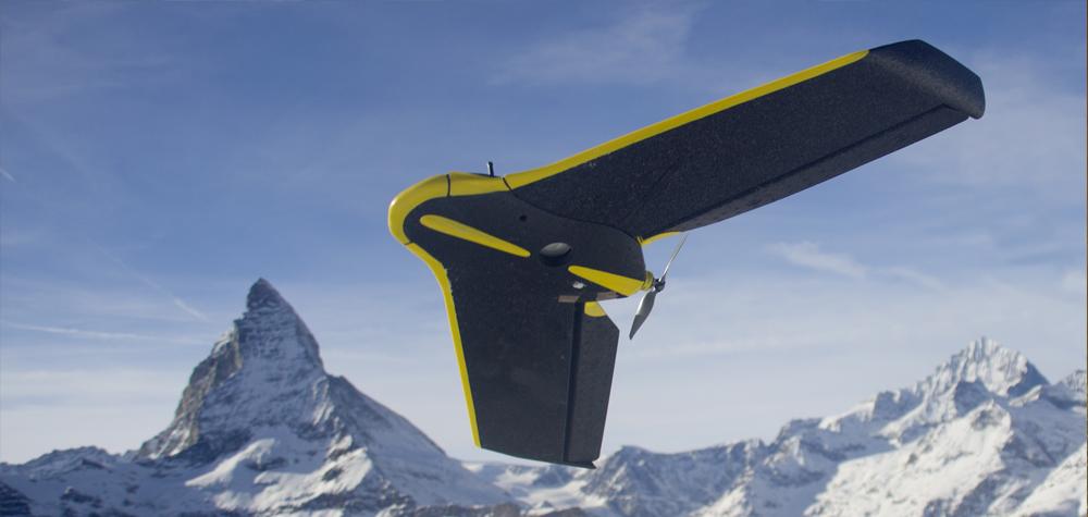 L'aile volante eBee de Sensefly
