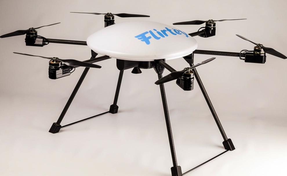 Le drone Flirtey