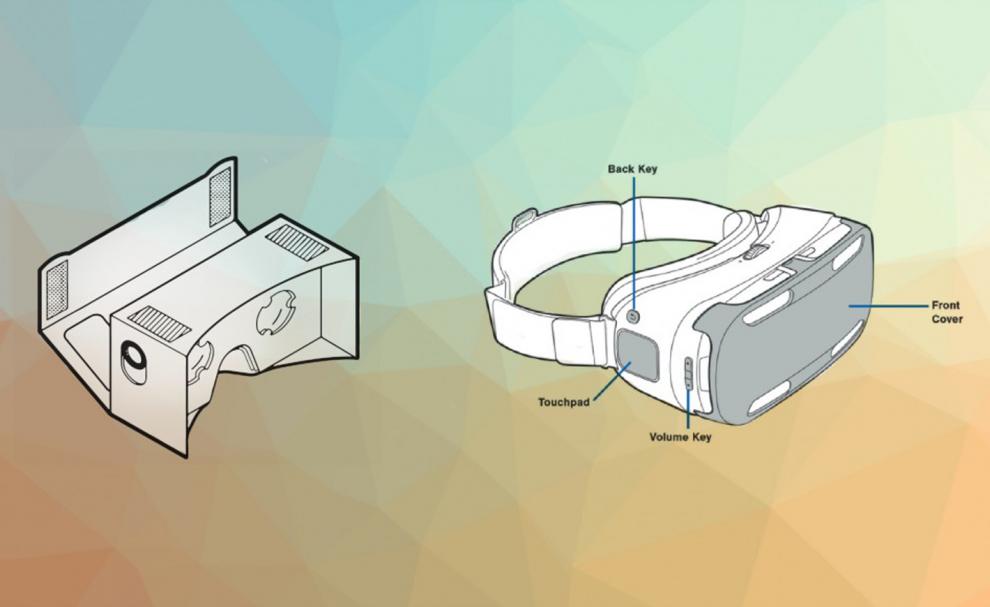Le Google Cardboard et le Samsung Gear VR
